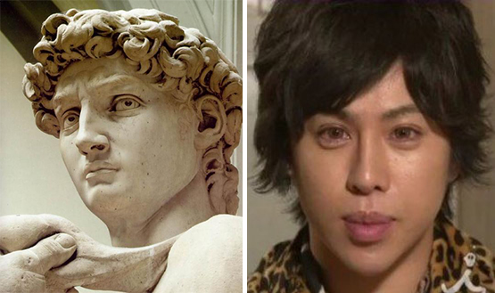 """Alan, il """"David umano di Michelangelo"""""""